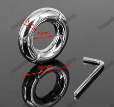 ACCIAIO Inossidabile Metallo testicolo palla a sfera barelle pesi 200g di diametro interno 33mm