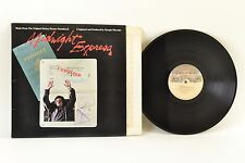 "‎Giorgio Moroder ‎– Midnight Express (Soundtrack) 12"" Vinyl LP ‎– NBLP 7114"