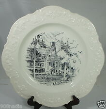 NITTANY LION INN Decorative Plate Vintage Embossed Signed England Made