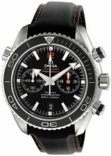 Omega 232.32.46.51.01.005 Planet Ocean 600M Men Chrono Co-Axial Watch New in Box