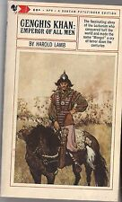 Genghis Khan: Emperor of All Men by Harold Lamb