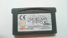 LEMONY SNICKET´S A SERIES OF UNFORTUNATE EVENTS GAMEBOY GAME BOY ADVANCE PAL EUR