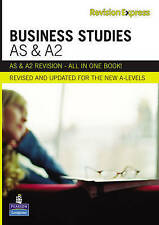 Revision Express AS and A2 Business Studies by Martin W. Buckley, Barry...