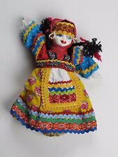 Russian Souvenir National Costume Pourcelain Doll New