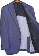 "Rare_ERMENEGILDO ZEGNA COUTURE ""Su Misura"" DUO SportCoat_42R_Surgeon'sCuffs_Blue"