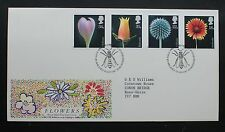 FDC Flowers 20th Jan 1987