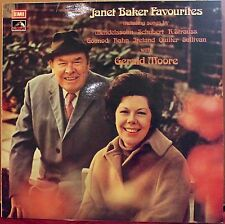 EMI LP ASD 2929: JANET BAKER Favourites - with Gerald Moore - 1973 UK Insert