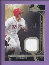 2015 Topps Tier One Game Used  JAY BRUCE reds /399