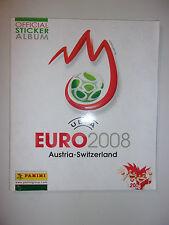 ALBUM PANINI EURO 2008 AUSTRIA - SWITZERLAND