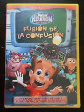 DVD JIMMY NEUTRON - EL NIÑO INVENTOR - FUSIÓN DE LA CONFUSIÓN (9 EPISODIOS)