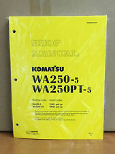 Komatsu WA250-5, WA250PT-5 Wheel Loader Shop Service Repair Manual