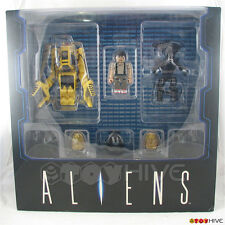 Aliens Kubrick Powerloader, Alien Queen, Ripley deluxe box set by Medicom Toys