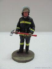 DelPrado Feuerwehr Zinnfigur Airport Fireman Santiago Chile 1992  #17596#