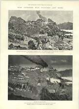 1894 How Japanese War Pictures Are Made Obvious Copies Winchester Barracks Fire