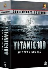 TITANIC AT 100 MYSTERY SOLVED New Sealed 3 DVD Collector's Edition