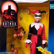 "DC COMICS 12"" HARLEY QUINN FIGURE DOLL HASBRO BATMAN ANIMATED ADVENTURES JOKER"