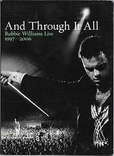 2 DVD DIGIPACK--CONCERT--ROBBIE WILLIAMS LIVE 1997-2006 - AND THROUGH IT ALL