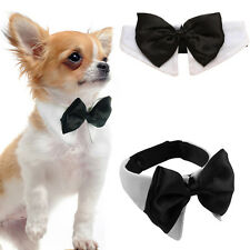 Fashion Dog Cat Pet Puppy Kitten Toy Bow Tie Necktie Collar Clothes Adjustable