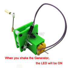 Hand-cranked Generator Experiment Nature Science Electronics Hobby Toy Robotic