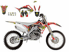 BLACKBIRD HONDA CRF 250 2010-2013 KIT GRAFICHE ADESIVI REPLICA ARMA ENERGY NERO