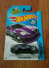 Hotwheels Hyundai Genesis Coupe (Purple)  JDM *sporty carded not skyline