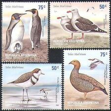 Argentina 2002 Penguins/Gulls/Goose/Birds/Nature/Wildlife/Conservation 4v n37834