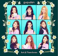 """K-POP gu9udan 2nd Mini Album """"Act.2 Narcissus"""" [ 1 Photobook + CD ]"""