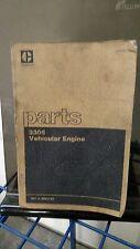 Caterpillar Cat 3306 Vehicular  Engine Parts Manual