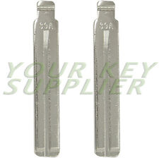 2 Metal Key Blade 39A Laser Cut Replacement for Kia and Hyundai 81996-2S020