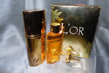L'OR DE TORRENTE 2 X 1.17 GOLDEN RECHARGEABLE EAU DE PARFUM SPRAY WOMEN