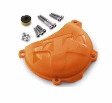 NEW KTM CLUTCH COVER PROTECTION ORANGE 250 350 XC-F SX-F XCFW EXCF 7753099400004