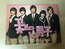 RARE! Boys Over Flowers Korea Drama OST Music CD 1 with Photo Lee Min-ho K pop
