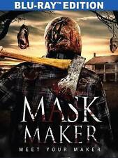 "Mask Maker Blu-ray DVD New ""Last House On The Left Meets Silence Of The Lambs"""