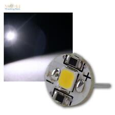 5 x SMD LED Lámpara de zócalo fino G4 blanco luz fría 12V, bombilla Bulbo G-4