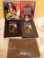 KING KONG 3 MOVIE Collection DVD + MOVIE SKETCH JOURNAL COLLECTIBLE