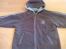 BOYS FLEECE LINED HOODED COAT URBAN SIZE 7 YEARS HEIGHT 125 cm 44""