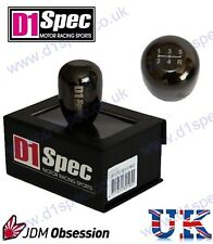 D1 SPEC UNIVERSAL WEIGHTED GEAR KNOB 5MT GUNMETAL CHROME JDM DRIFT