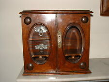 Vintage Smokers Cabinet & Pipes ETC