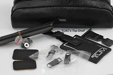 Tumi Carbon Fiber Accent Accessory Pouch/Repair Kit with luggage tag 0043CBH $75
