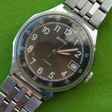 RARE Men's Mechanical Wrist Watch Wostok Vostok Vintage Soviet USSR cal. 2414