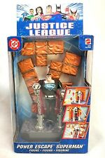 Mattel 2003 DC Justice League Power Escape Superman Clark Kent Figurine Sealed