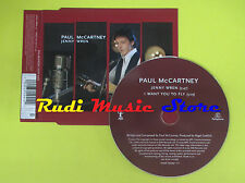 CD Singolo PAUL McCARTNEY Jenny wren 2005 eu BEATLES EMI no lp mc dvd (S12)