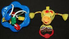 Lot Baby Bright Starts Yellow Giraffe  Blue Clack Slide Activity Toddler Toy