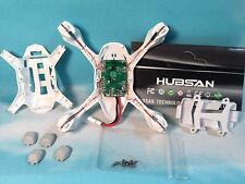 Hubsan H107D Receiver Board-Body Shell-Rubber Protection Feet-Blue/Red Led Light