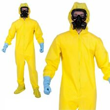 Adulto Breaking Bad Chimico Completo Walter Materiali Tossici Costume Halloween