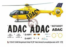 Peddinghaus 1/72 EC135 P1 Rescue Helicopter Markings D-HIPT Christoph 70 EP2236