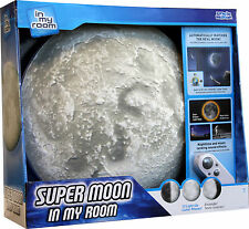 Uncle Milton Super Moon in My Room with Authentic Lunar Clock Matching Phases
