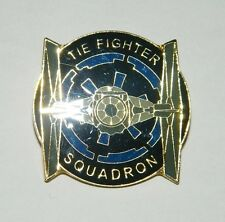 Classic Star Wars Imperial Tie Fighter Squadron Metal Cloisonne Pin, NEW UNUSED