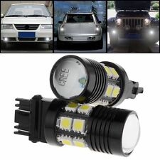 2X 6000K White 3157 Back Up Reverse Projector Cree 12-SMD Chip LED Lights Bulbs