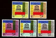 Saudi Arabia 1966 ** Mi.287/91 UNESCO
